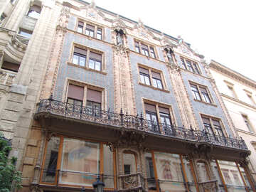 An ancient building in Budapest №31926