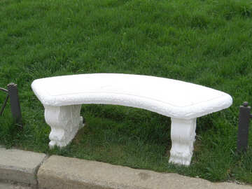 Stone bench in the Park №31227