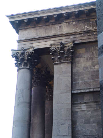 The column of old building №31831