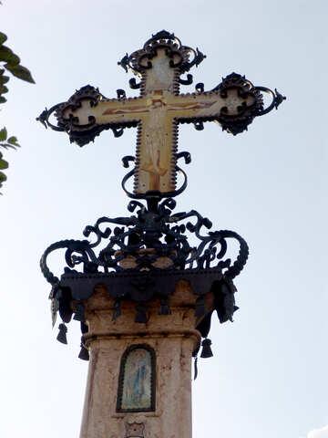Memorial cross №31756