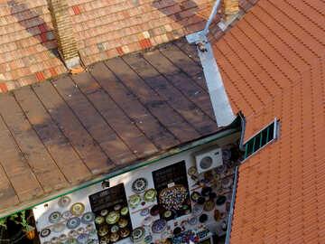 Il tetto del negozio di souvenir №31763