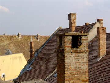 Vintage European roof №31766