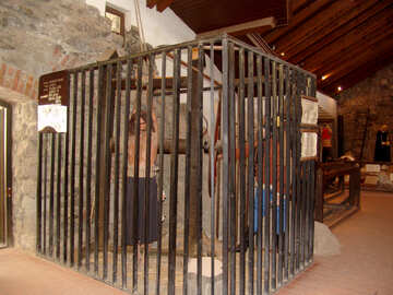 Cell for torture in the medieval castle №31807
