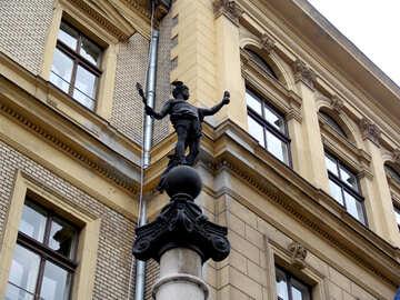 Sculpture of Hermes №31906