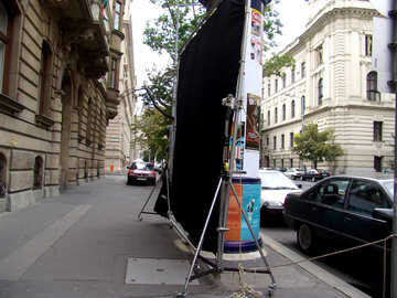 Background reflector for mobile movies №31911