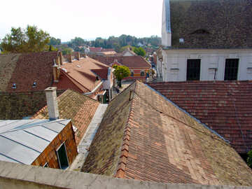 The roofs of European houses №31767