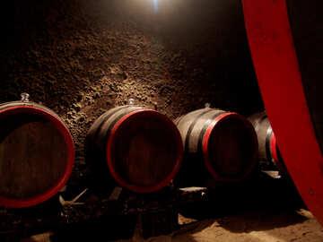 Wine barrels №31696