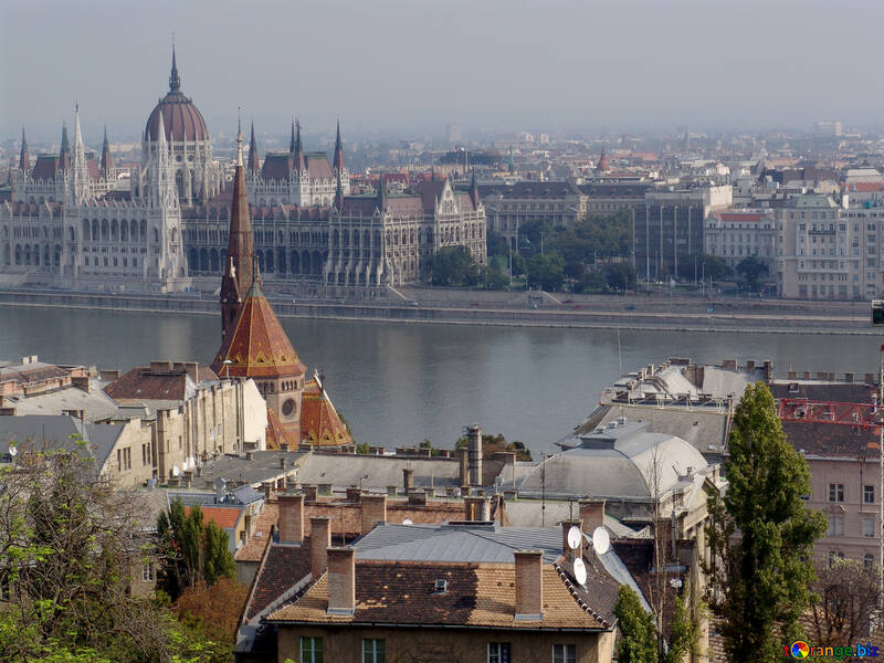 The cityscape of Budapest №31984