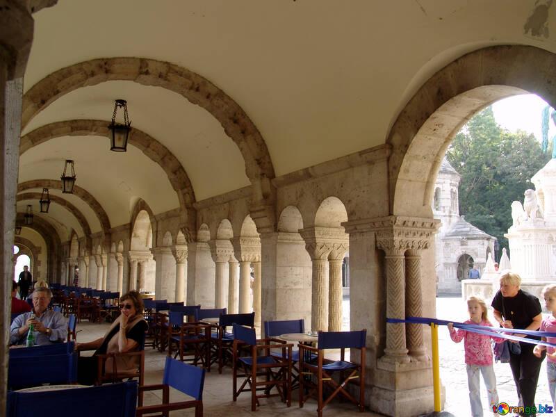Restaurante en edificio histórico №31977