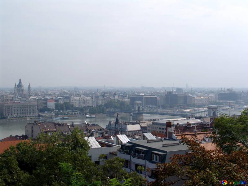 The river Danube in Budapest №31982