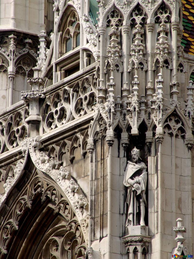 Escultura del rey húngaro №31991