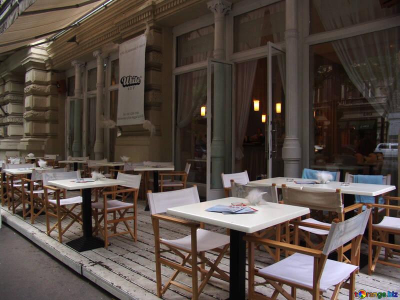 European street restaurant №31894