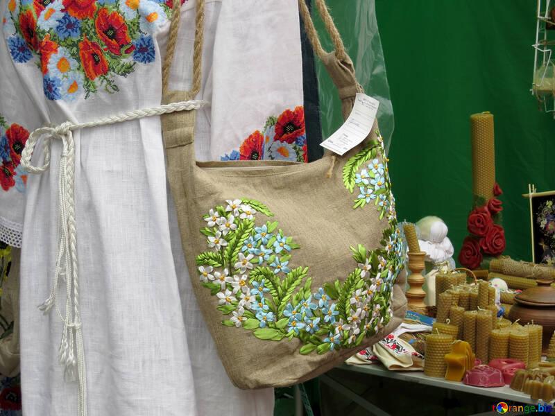 Ethno style handbag №31331