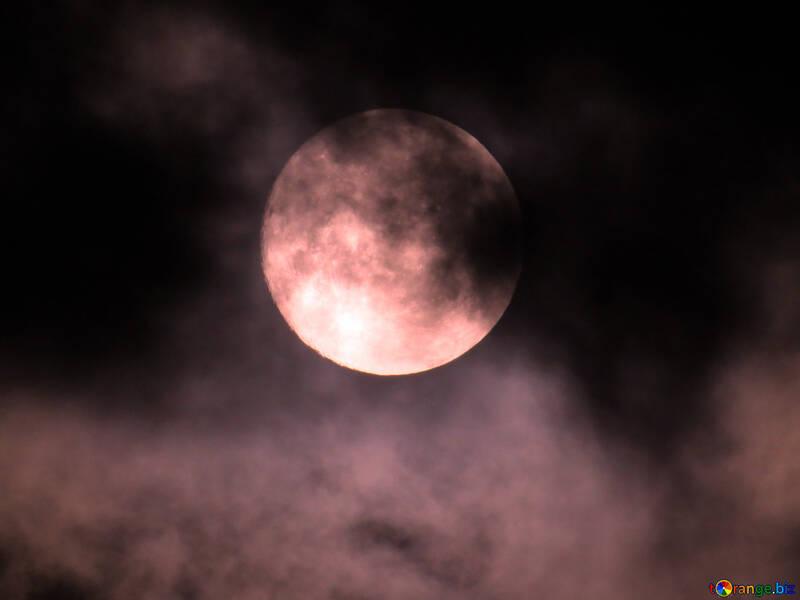 Luna y nubes №31510