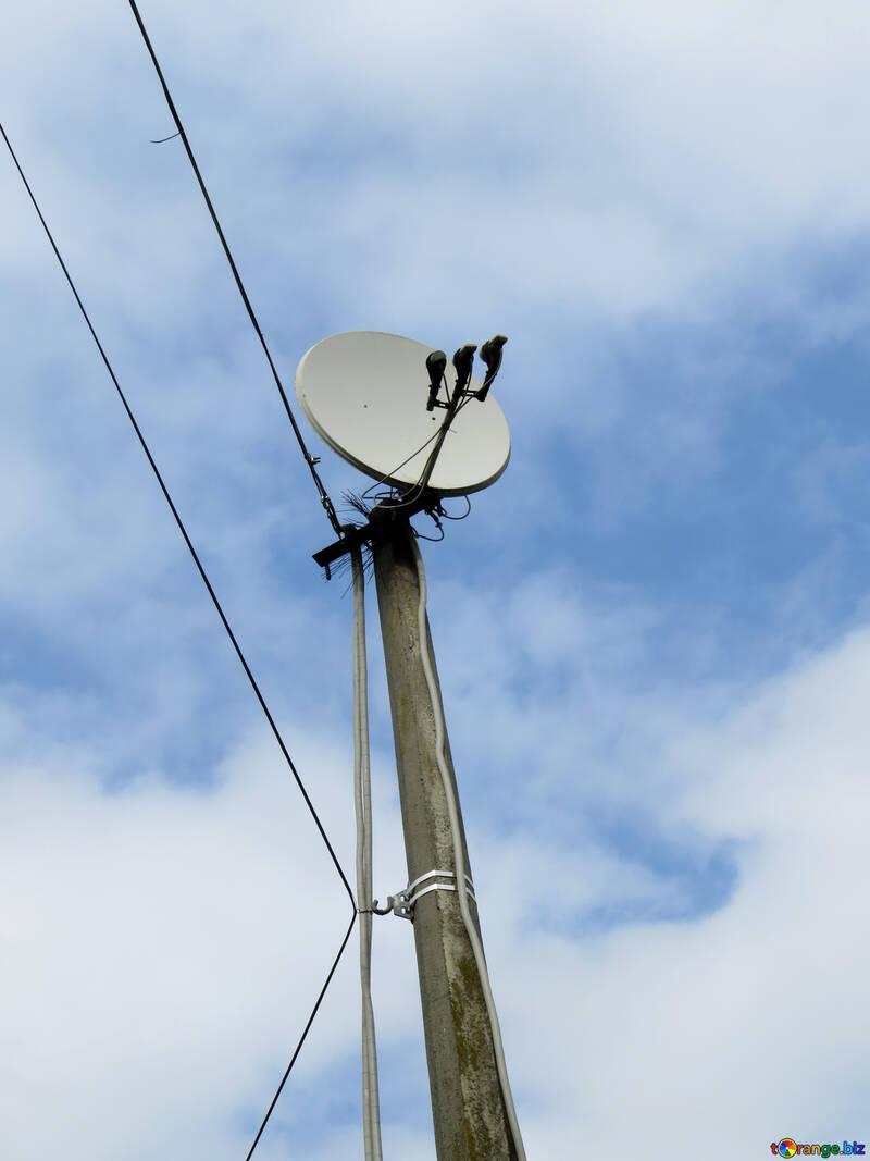 Antenna satellitare №31193