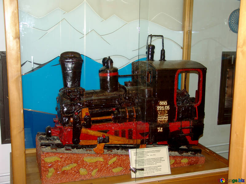 Steam locomotive of the marzipan №31743
