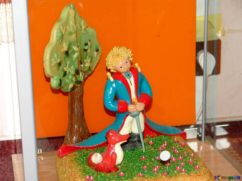 Toy from marzipan №31749