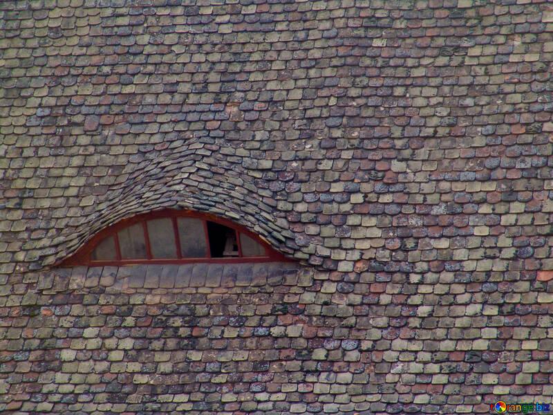 La texture delle vecchie piastrelle con finestra №31768