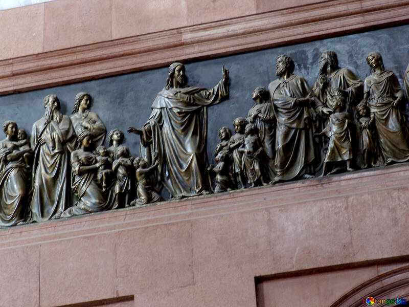 The bas-relief of the Church №31841
