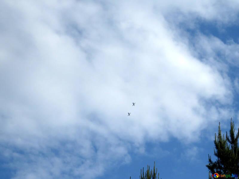 Warplanes in the sky №31607