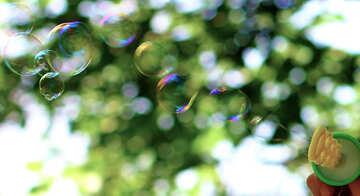 Multicolored bubbles №32948