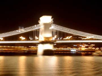 Bridge at night №32075