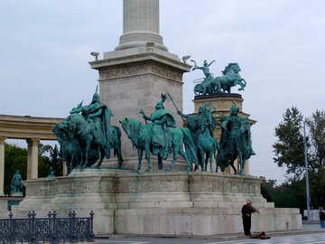 Escultura del caballo №32068