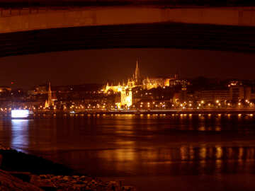 Picture Budapest by night №32073