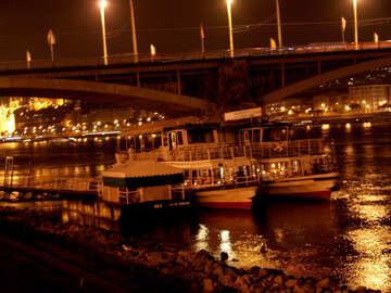 Pleasure boats in Budapest №32093
