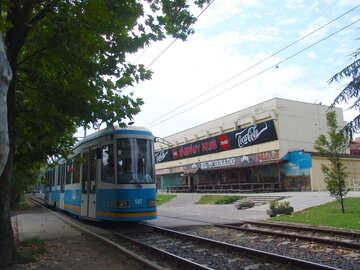 Hungarian tram №32118