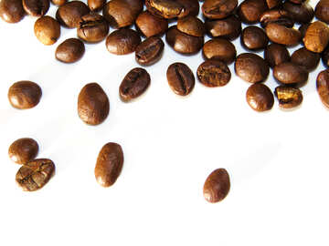 Beautiful coffee grains №32289