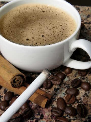 Coffee and cigarette №32209