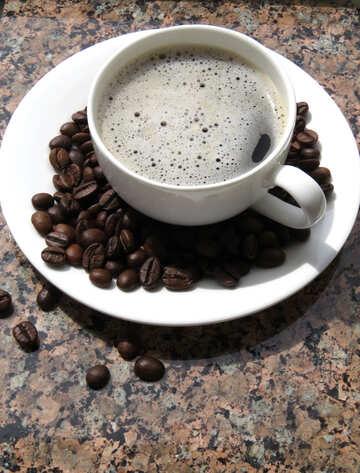 Café en el restaurante №32222