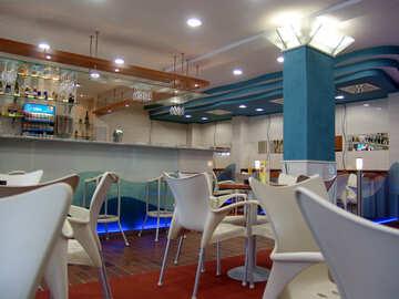 Das Interieur des Cafes №32106