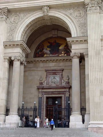 The entrance to the Cathedral №32010
