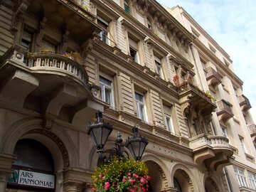 Edificios antiguos en Budapest №32017