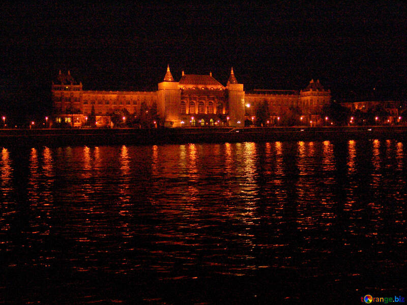 Budapest by night view from the river №32080