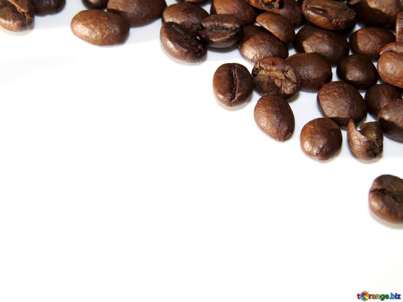 Chicchi di caffè sullo sfondo №32288