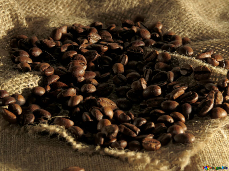 The smell of natural coffee №32261