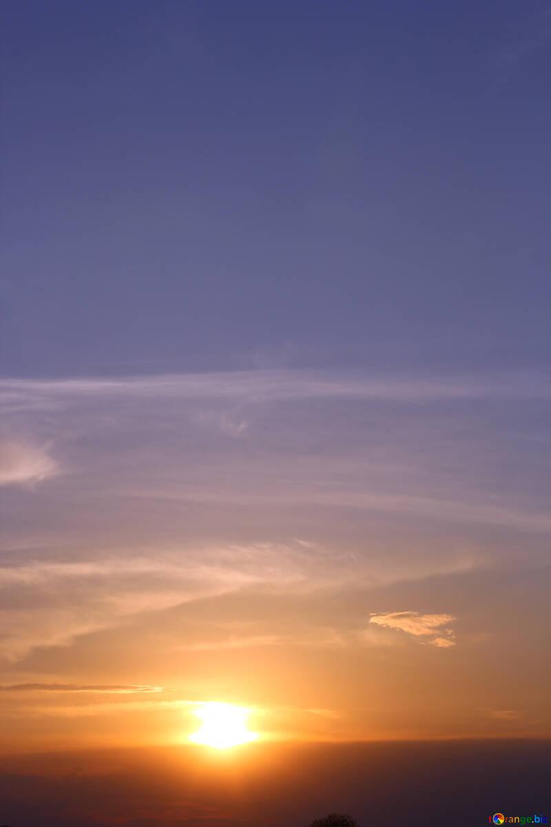 Cielo di sera №32450