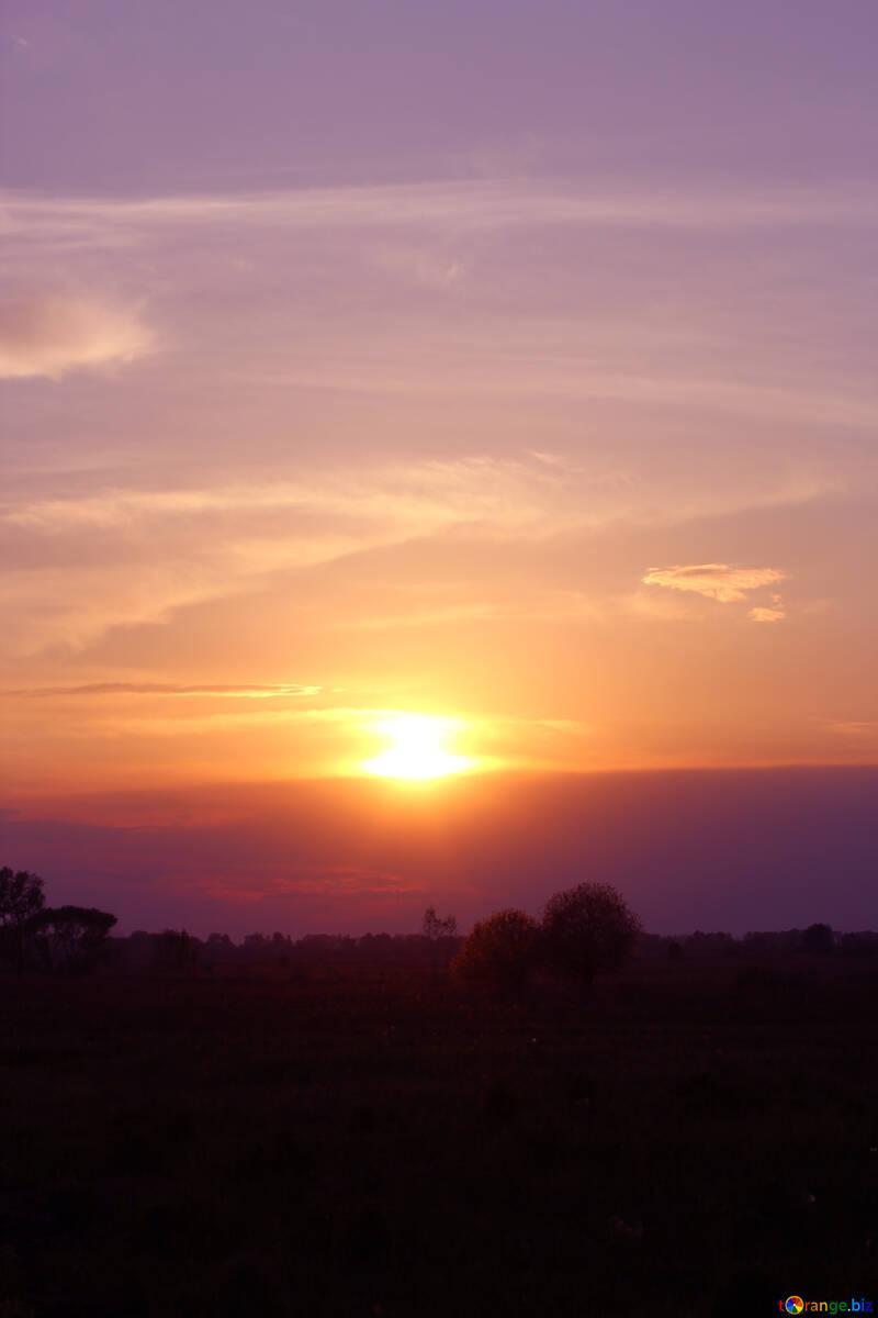 Beautiful sunset №32449