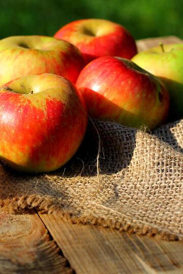 Organic apples №33554