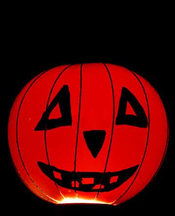 Halloween on black background №33633