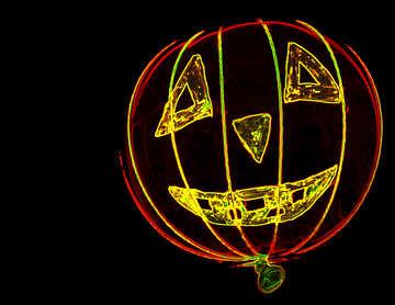 Neon-Halloween №33644