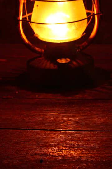 Lighting the kerosene lamp №33907