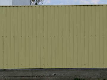 Текстура забор из светлого металлопрофиля №33314
