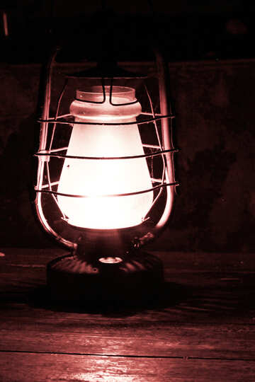 Antique lamp №33904