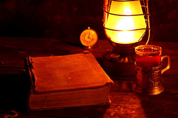 Evening reading book №33918