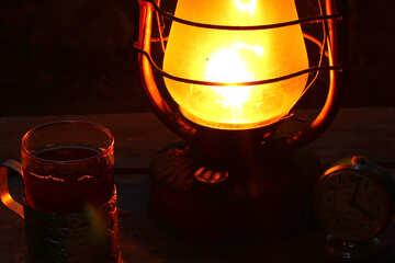Tea at night №33935