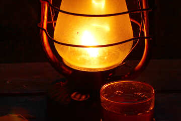 Tea and old lamp №33939